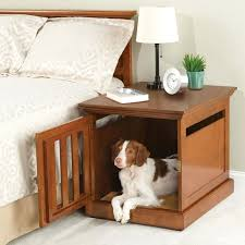 nightstand dog bed wooden cubical nightstand as dog bed also small white lamp shade plus black