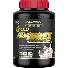 ALLMAX Nutrition - <b>AllWhey Gold</b> - <b>100</b>% <b>Whey</b> Protein + Premium ...