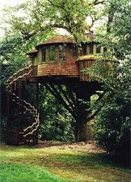 This Tree House Design Ideas For Adult and Kids, Simple and easy. can also  be used as a place (to live in), Amazing Tiny treehouse kids, ...