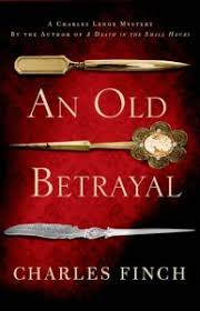 book review charles finch s an old betrayal giveaway