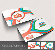 Kids Care Business Card Set Royalty Free Cliparts Vectors And