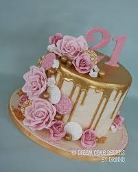 Cake Designs For 21st Birthday For A Girl Zwonzorg