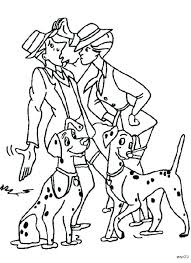 dalmatian coloring pages dalmatians first meet of roger and 101 free