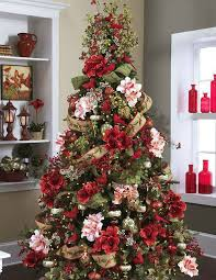 Paper Flower Christmas Tree People Are Decorating Their Christmas Trees With Flowers And The