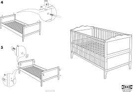 Ikea Instruction Manuals Ikea Beds Hensvik Crib 27 1 2x52 Pdf Assembly Instruction Free