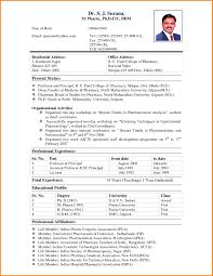 Resume Format For Pharmacy Graduates Best Of Fresh Graduate Resume