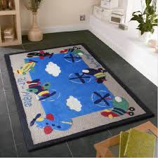 Small Area Rugs For Bedroom Bedroom Chic Kids Bedroom Area Rug With Air Plane Designs Ideal