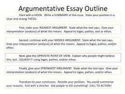 ppt how to write an introduction to an argumentative essay argumentative essay outline