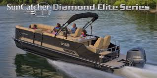 home suncatcher pontoons by g3 boats diamond elite series