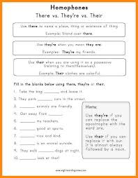 5+ their they re there worksheet | math cover