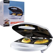 Non Stick Kitchen Appliances Amazoncom Sylvania Sw 086 Nonstick Omelet Maker Omelet Pans