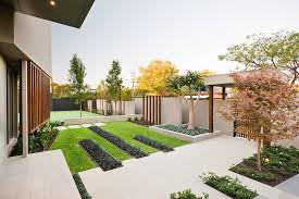 minimalist garden integrating the best