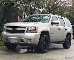 Avalanche chevy avalanche 33 inch tires : Wheel Offset 2007 Chevrolet Tahoe Aggressive 1 Outside Fender ...