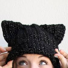 Cat Hat Crochet Pattern Awesome Black Cat Hat Pattern Easy Crochet