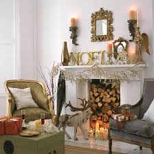 Fireplace Decorating Ideas Pictures Christmas Decorations Garland Fireplace Decorations