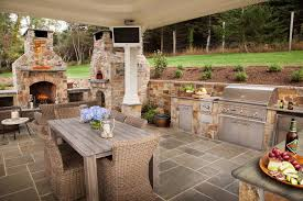 stunning outdoor patio ideas collection and with fireplace tv images
