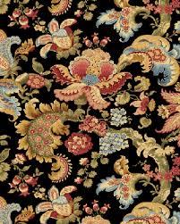 Samsara Quilting Fabric - Large Jacobean Florals on Black & Samsara Quilting Fabric - Large Jacobean Florals on Black Review Adamdwight.com