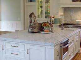 carrara marble island laminated edge capital stone saratoga in saratoga springs ny