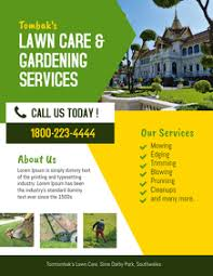 Lawn Mowing Ads Customize 350 Lawn Service Templates Postermywall