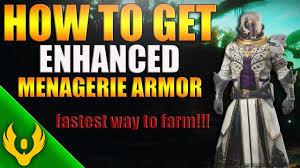 Destiny 2 Rune Combinations Menagerie Armor How To Get Enhanced Perks Season Of Opulence
