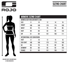 Iris Size Chart Rojo Adventure Awaits Womens Ski Pants Black Iris 2018