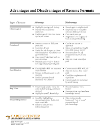Different Resume Formats 13 Different Types Of Resume Formats