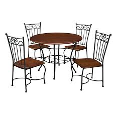 metal and wood dining table. Amazon.com - Dorel Living 5-Piece Wood And Metal Cafe-Style Dinette Set For Kitchen Or Room Table \u0026 Chair Sets Dining N