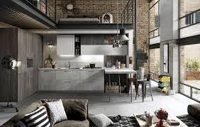 Industrial style in kitchen design | Snaidero