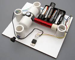 simple electric motor with switch. Kit #6: Motor On Hall Effect Switch Simple Electric With I