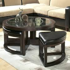 round coffee table with stools large size of round cocktail table w ottomans awesome sofa with round coffee table with stools