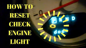 How To Erase Check Engine Light Without Scanner Diy How To Reset Your Check Engine Light Without A Scan Tool For Free