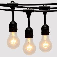 Heavy Duty String Lights China Alu Zinc Roof Steel Outdoor Cafe String Lights