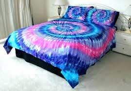 tie dye baby bedding sets bed set traditional bedroom with blue pink