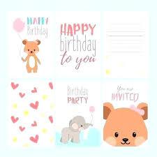 Happy Birthday Postcard Template Free