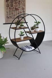 Furnitures:Creative Round Unique Modern Metal Shelves Idea Creative Round  Unique Modern Metal Shelves Idea