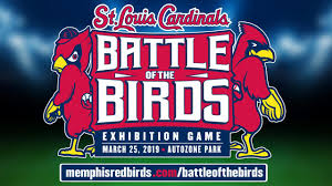 St Louis Cardinals To Play In Memphis On March 25 2019