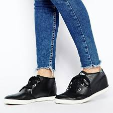 bn keds chukka black leather shearling lined sneakers women s fashion shoes on carou