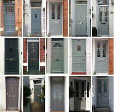 grey front doorFurniture Extraordinary Grey Front Porch Decoration Using Single