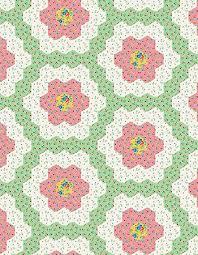 Paper Piecing Flower Grandmothers Flower Garden Complete Kit Thediyaddict English