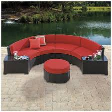 fantastic red patio sectional 40 best images about patio furniture on pinterest fire pits