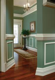Practical and decorative, a chair rail adds elegance to any room ...