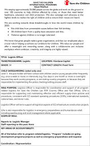Logistics Officer Job Description Logistics Officer Job Description Staruptalent 5