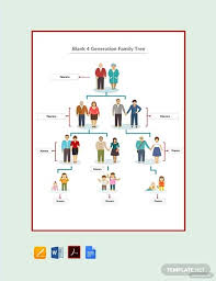 15 Best Family Tree Organization Chart Templates Examples
