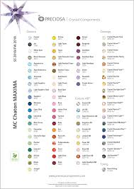 40 Exhaustive Preciosa Color Chart