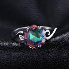 5.7ct <b>Mystic</b> Topaz Sterling Silver Ring