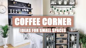 As we alluded to earlier, the nook coffee table is only a concept prototype for now. 55 Best Coffee Corner Ideas For Small Spaces Youtube
