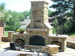 cost of outdoor fireplace cost of unilock outdoor fireplace