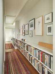 NOTE Book shelves in the 2nd floor hall by Rohleder Borges Architecture