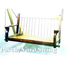 porch swing glider frame free plans patio