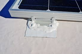 installing a renogy 200w solar kit in the rv solar panel mount sealed